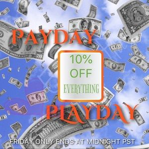 PAYDAY PLAYDAY SALE